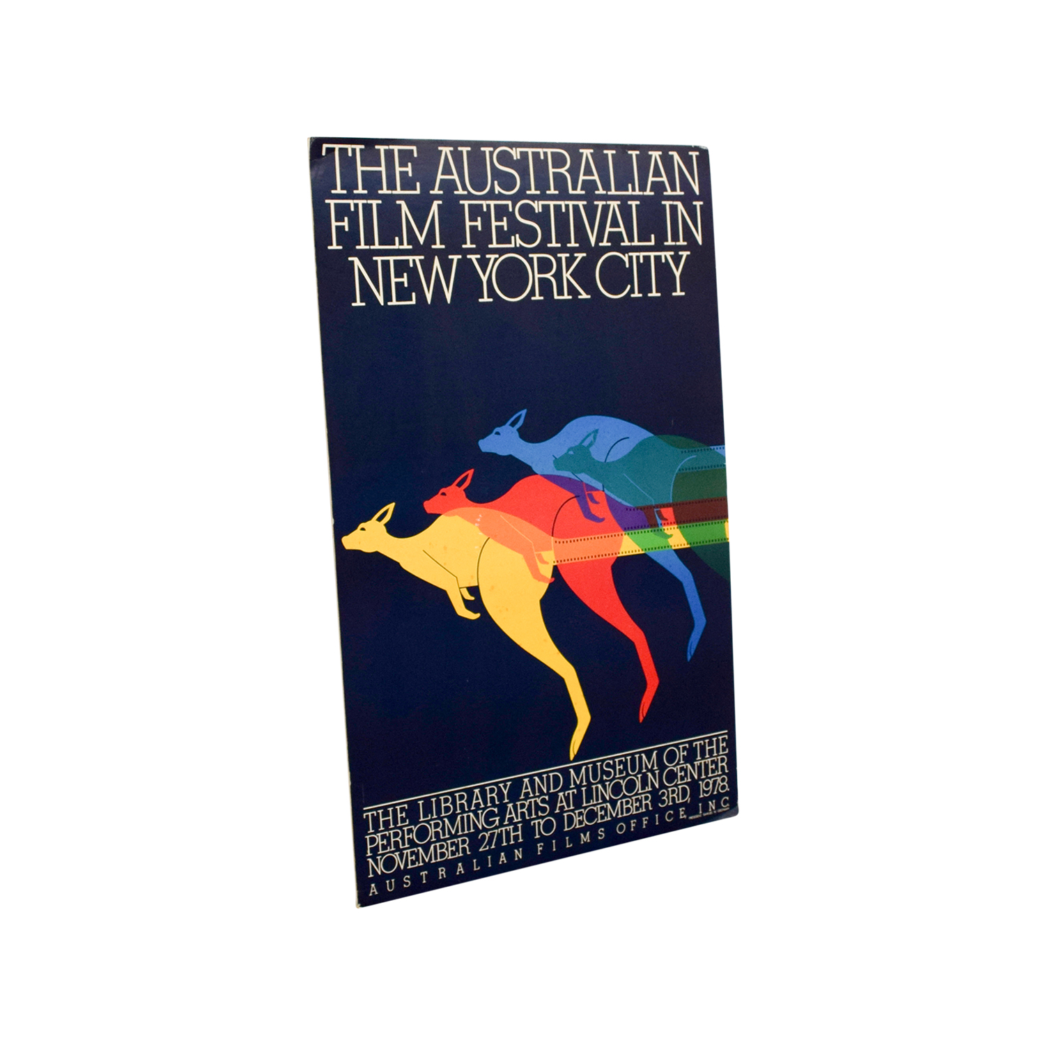 shop Australian Film Festival NYC Print Decor