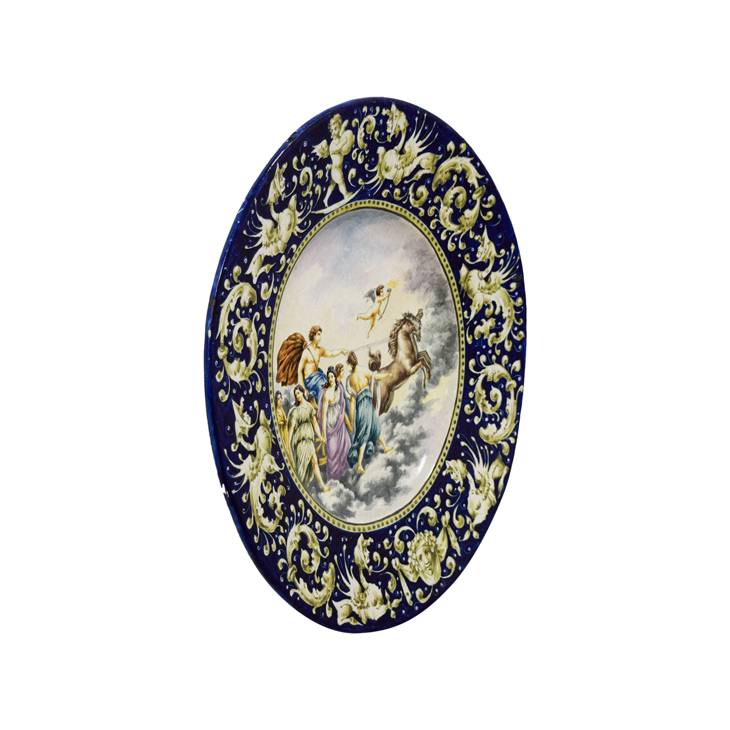 Antique Dish Decorative Accents
