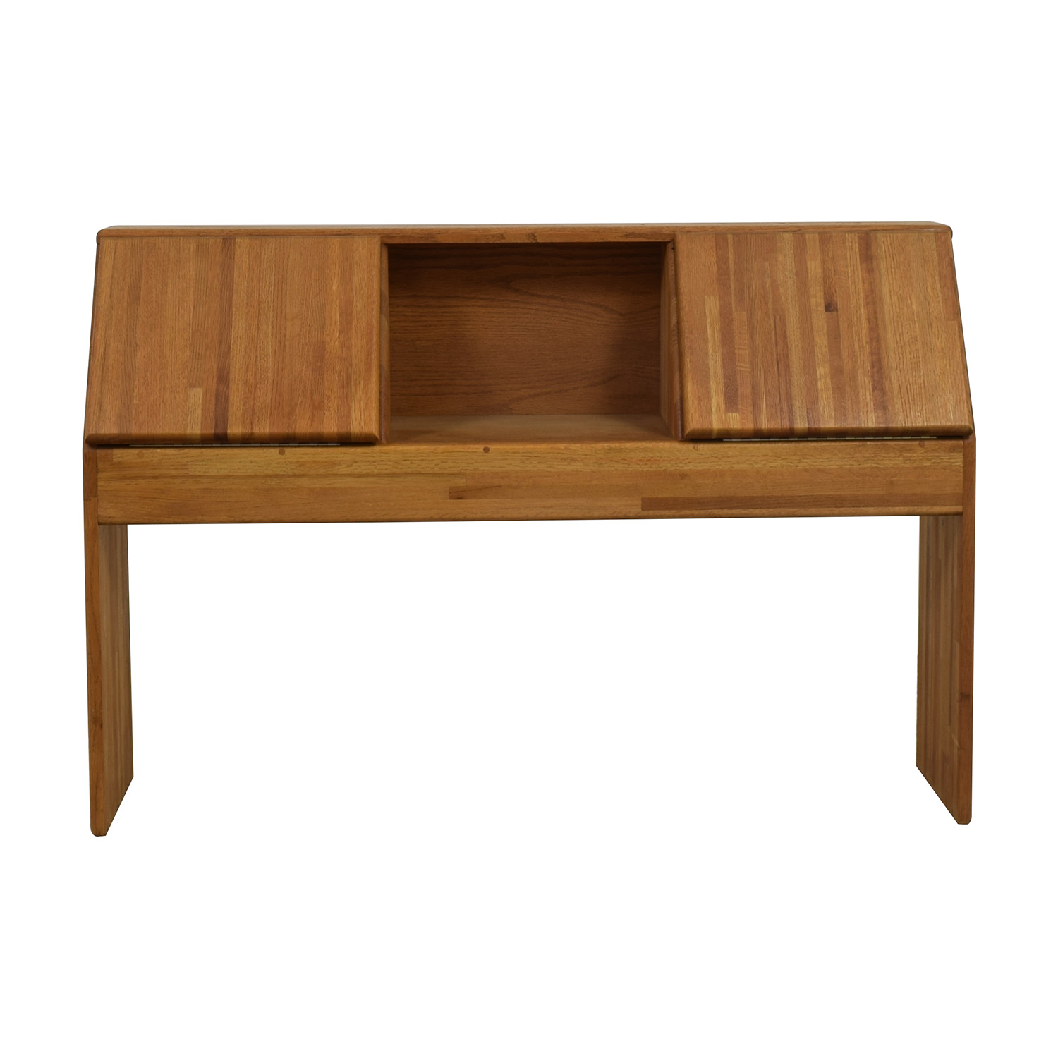 California Oak Book Shelf Desk for sale