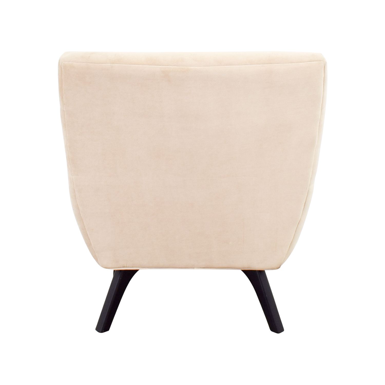 Abbyson Abbyson Malibu Cream Microsuede Armchair price