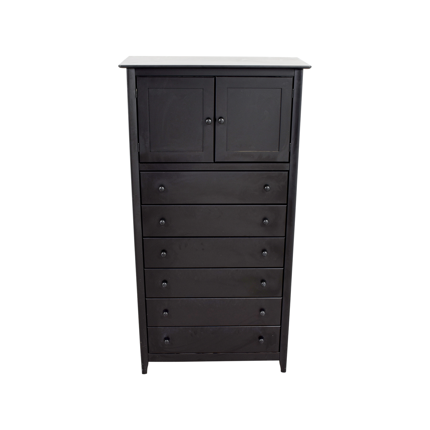 Atlantic Atlantic Black Tall Boy Six-Drawer Dresser price