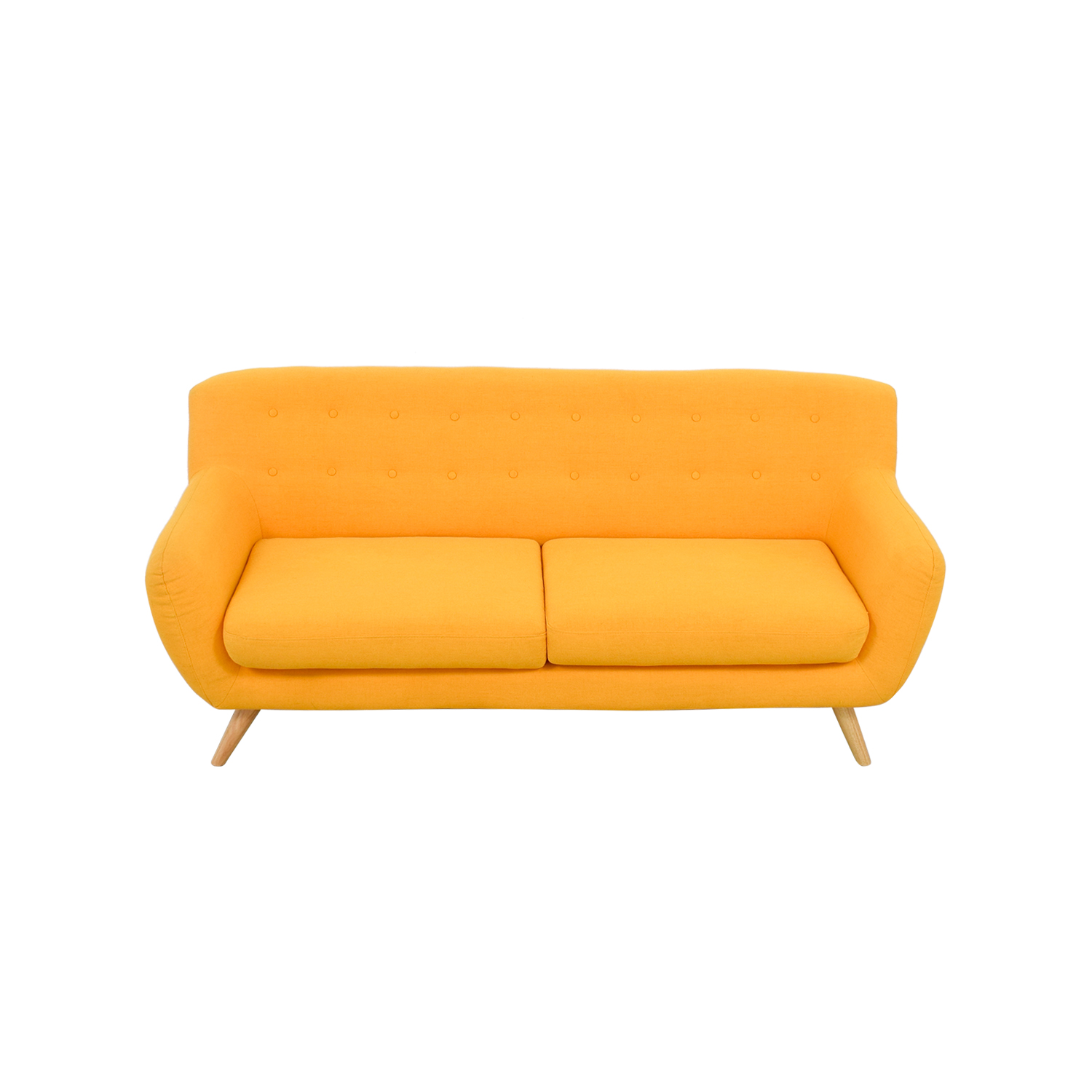 Mustard Yellow Sofa nyc