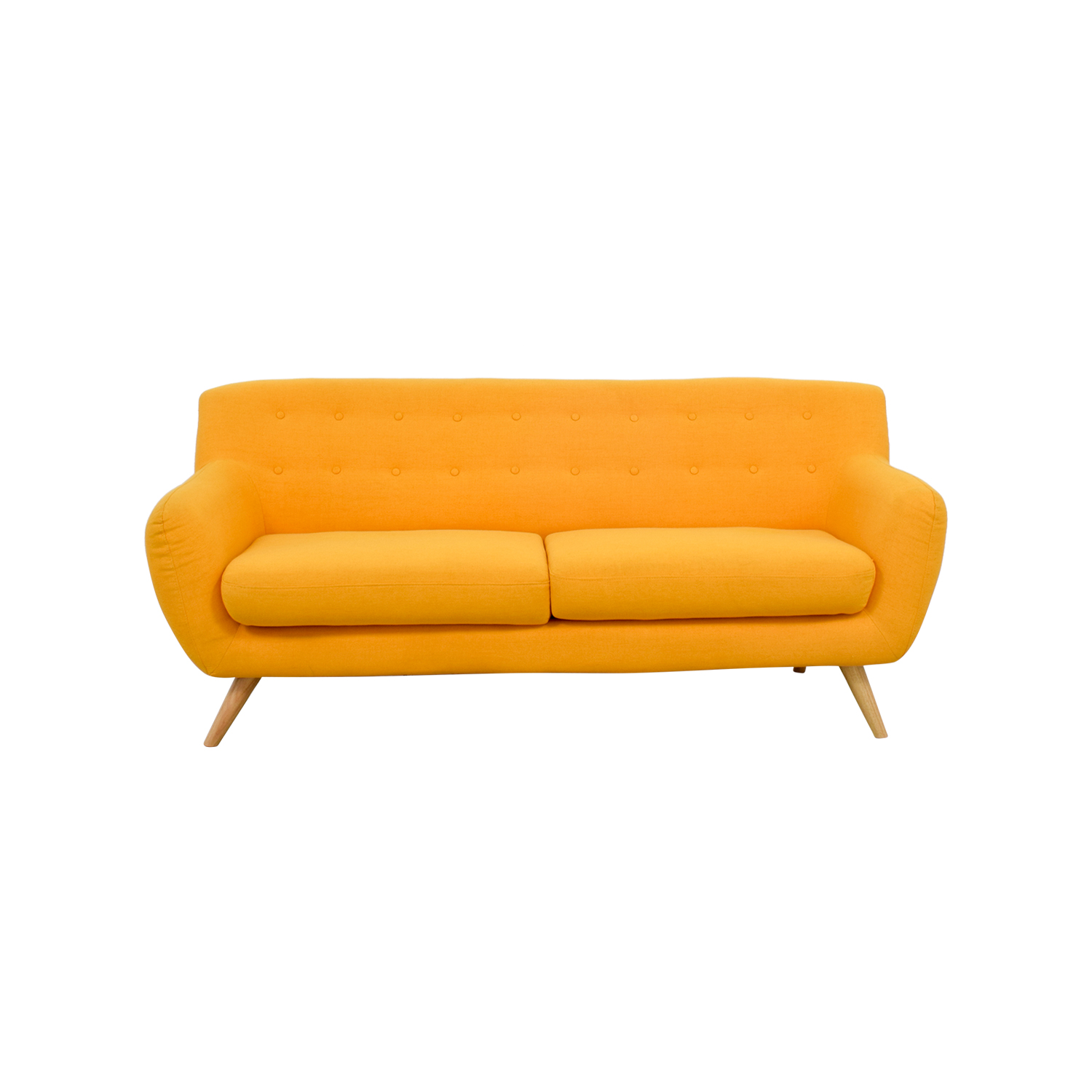 Mustard Yellow Sofa on sale