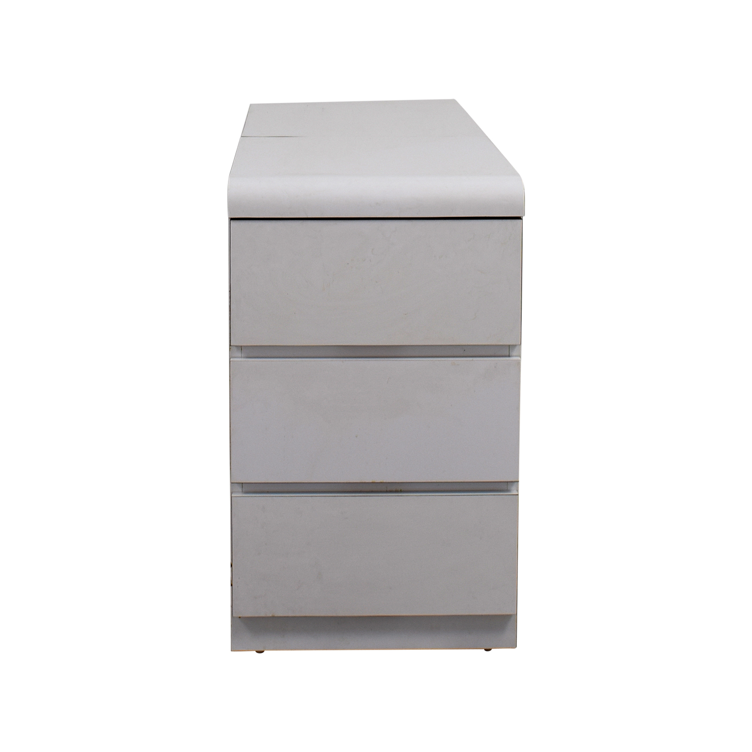 buy White Three-Drawer Dresser with Storage Storage