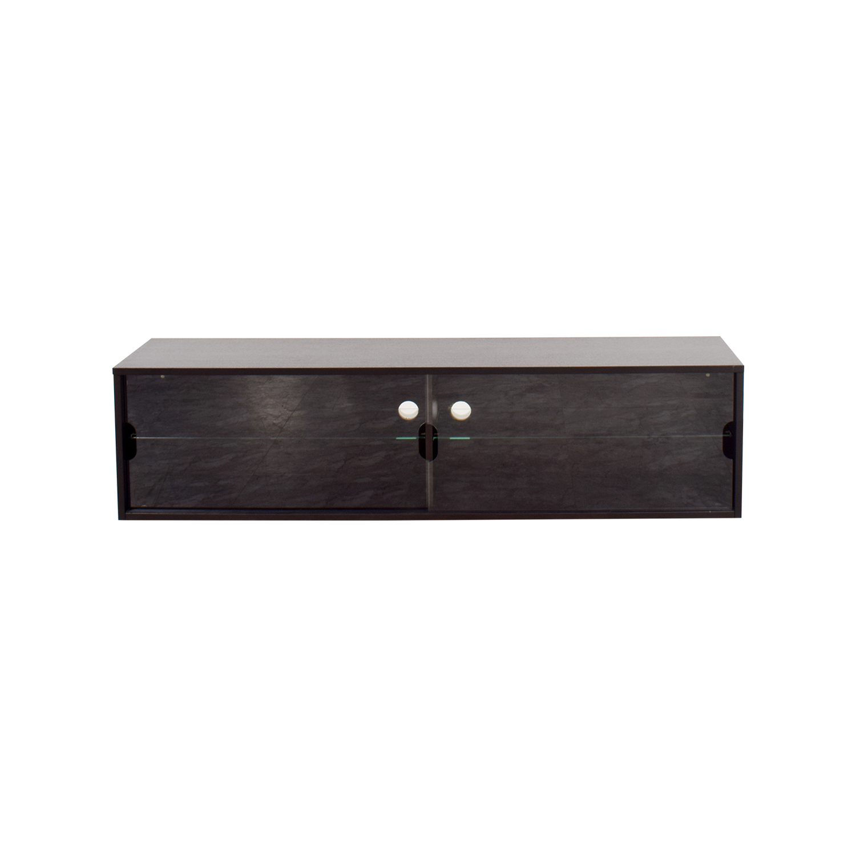 buy IKEA TV Sliding Glass Cabinet IKEA