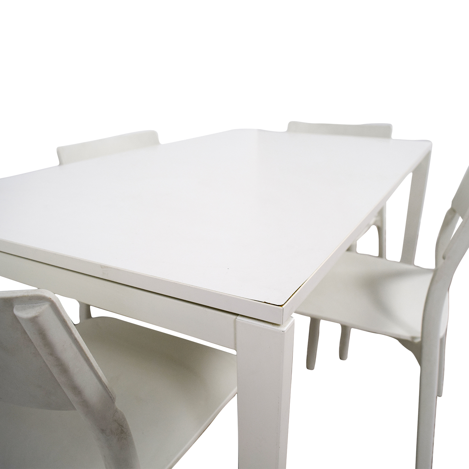 IKEA IKEA White Kitchen Table And Chairs / Tables