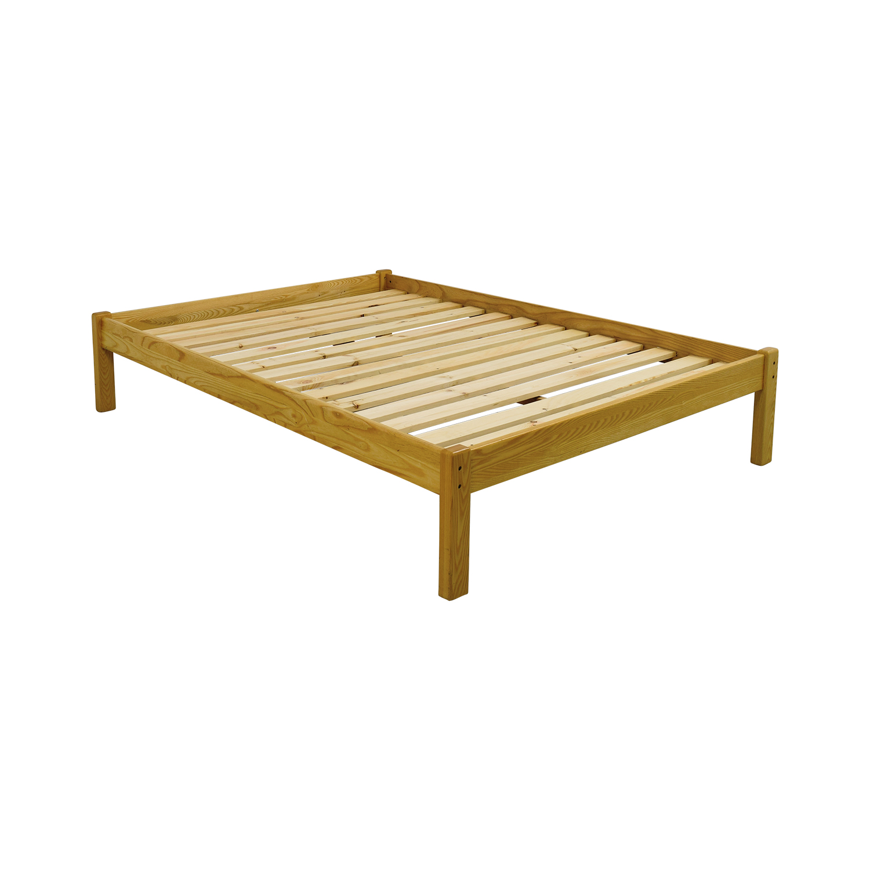 ... Buy Garnet Hill Queen Natural Wood Platform Bed Frame Garnet Hill ...