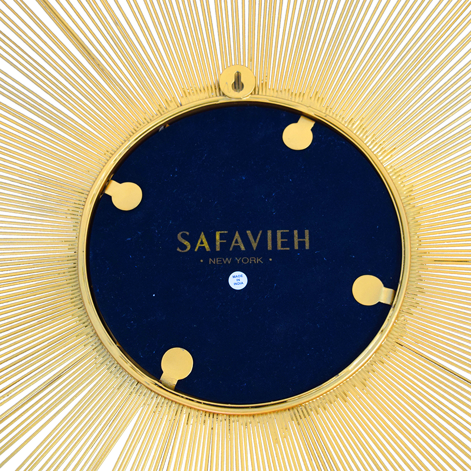Safavieh Safavieh Gold Sunburst Mirror coupon