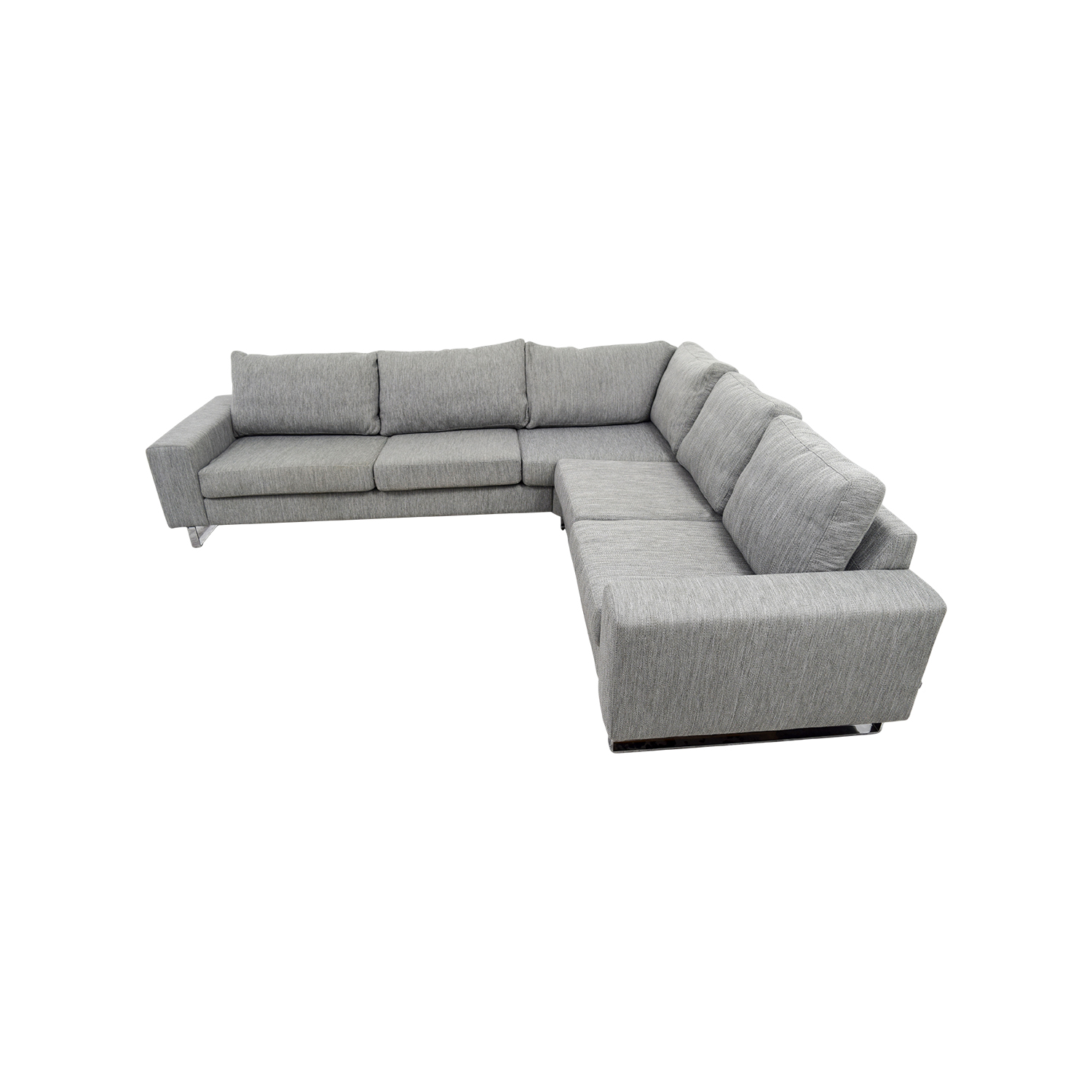 shop BoConcept Grey Corner Sectional BoConcept Sofas