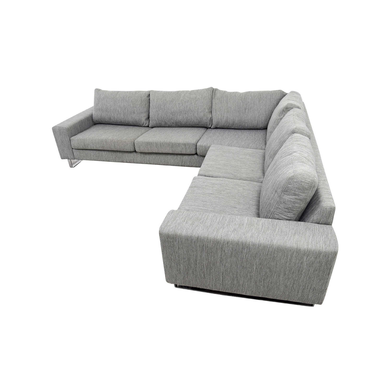 Stupendous 45 Off Boconcept Boconcept Grey Corner Sectional Sofas Machost Co Dining Chair Design Ideas Machostcouk