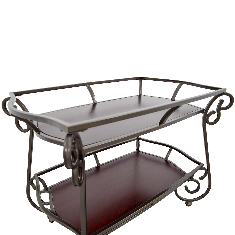 64% OFF Bob s Furniture Bob s Furniture Bar Cart Tables