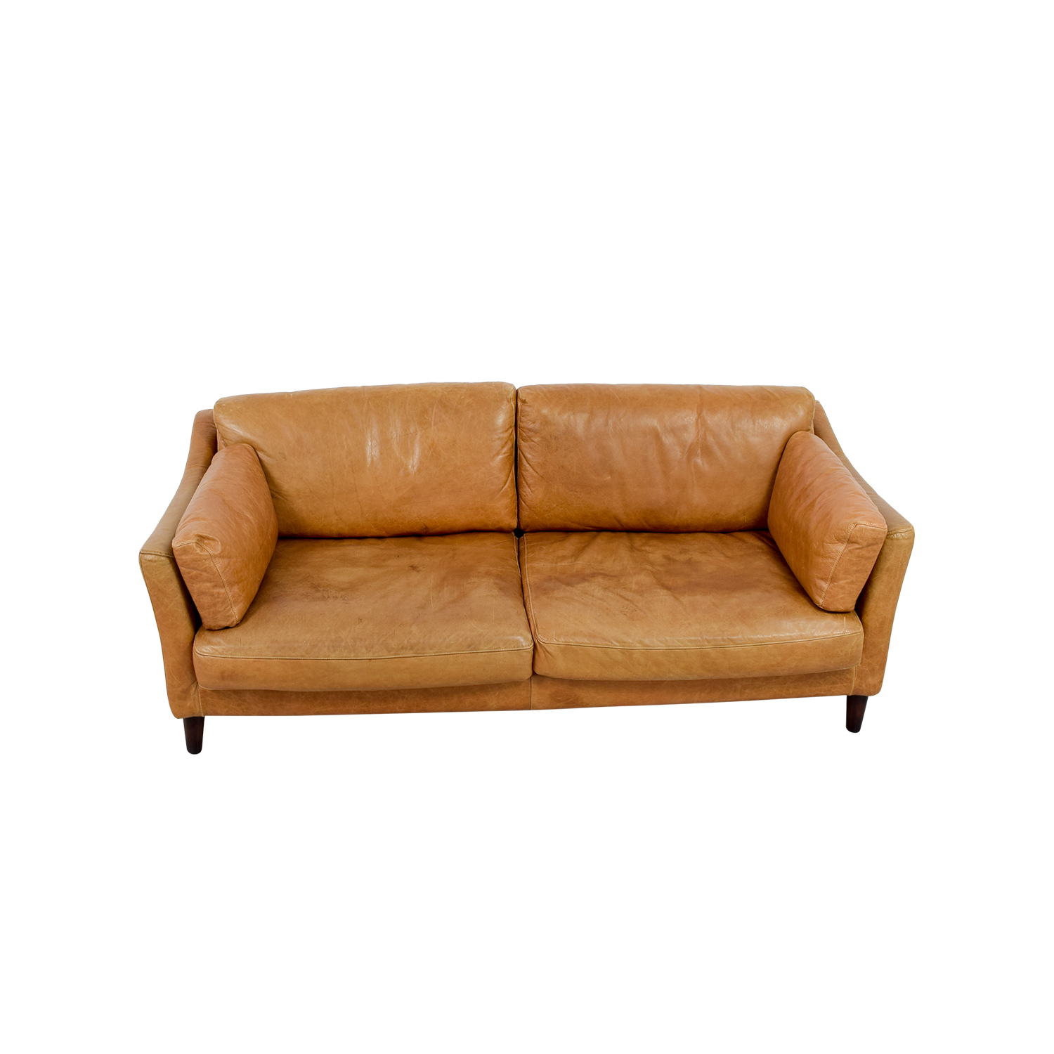 Marina Homes Marina Homes Leather Sofa on sale