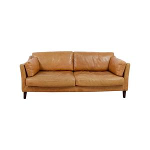 Marina Homes Leather Sofa sale