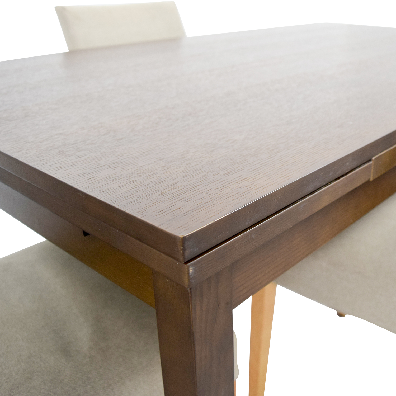 Muji Extendable Dining Table With Chairs