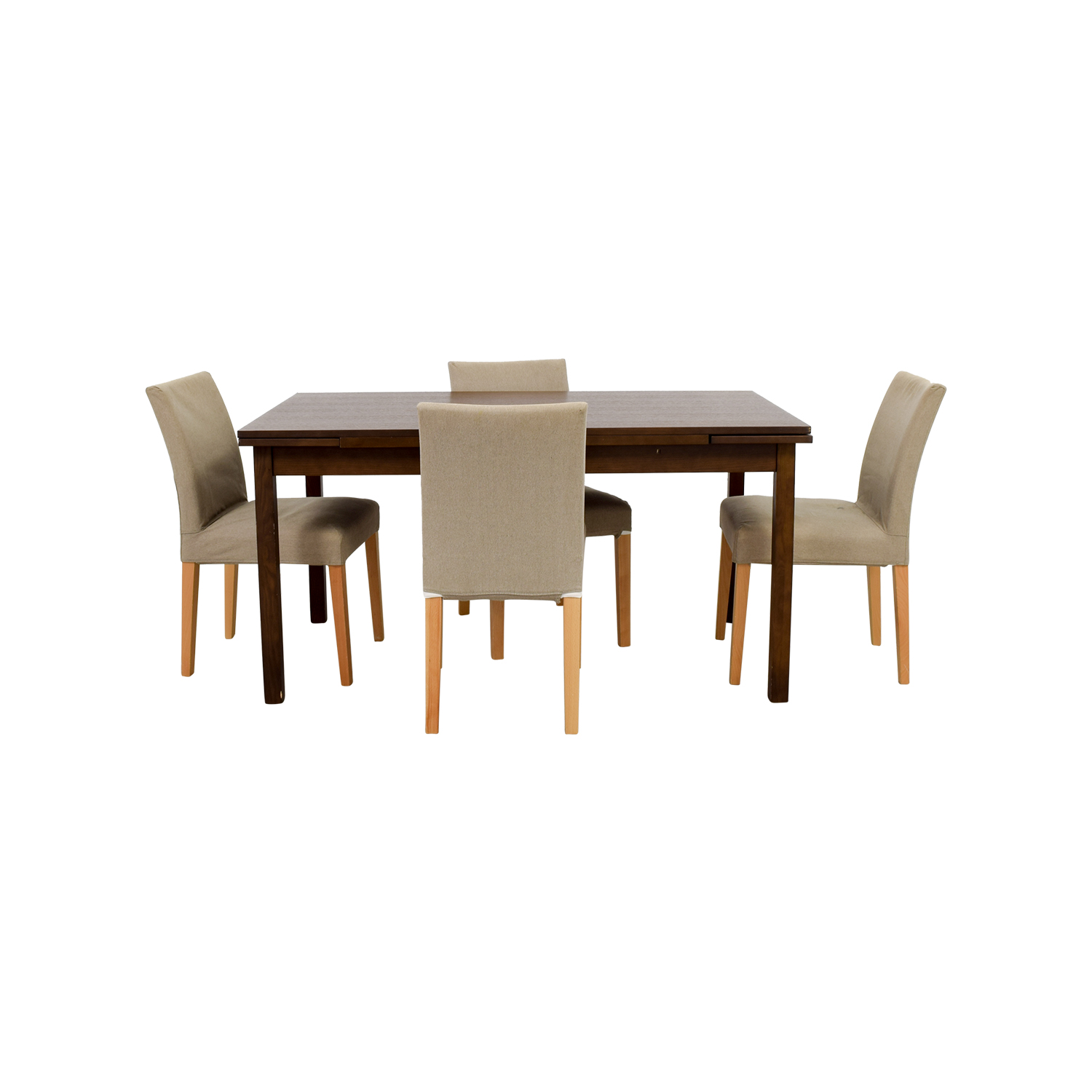 Muji Muji Extendable Dining Table with Chairs