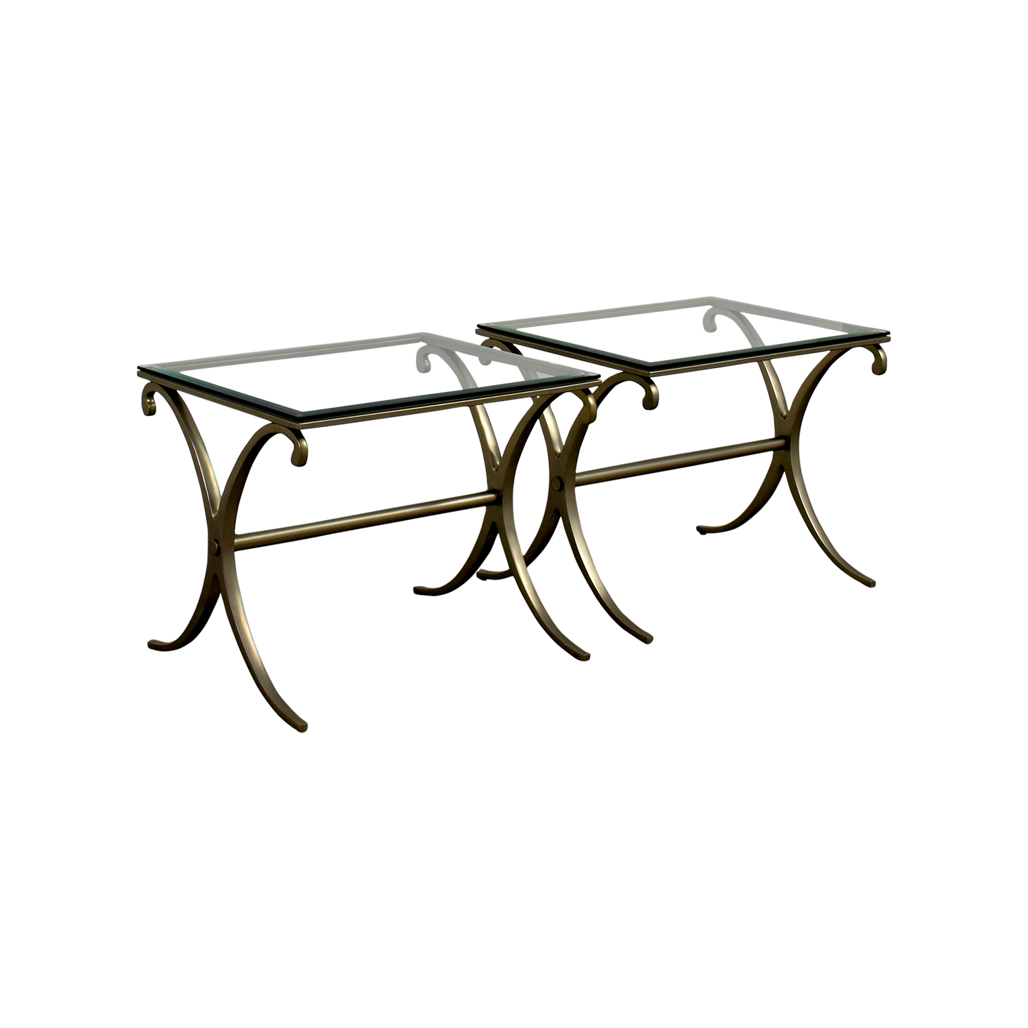 ... Buy Silver And Glass End Tables Online ...