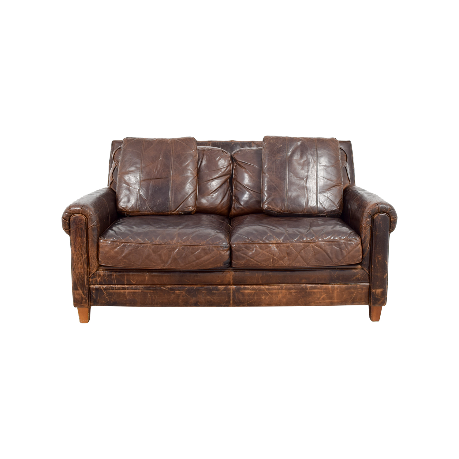 61 Off Jennifer Furniture Jennifer Convertibles Brown