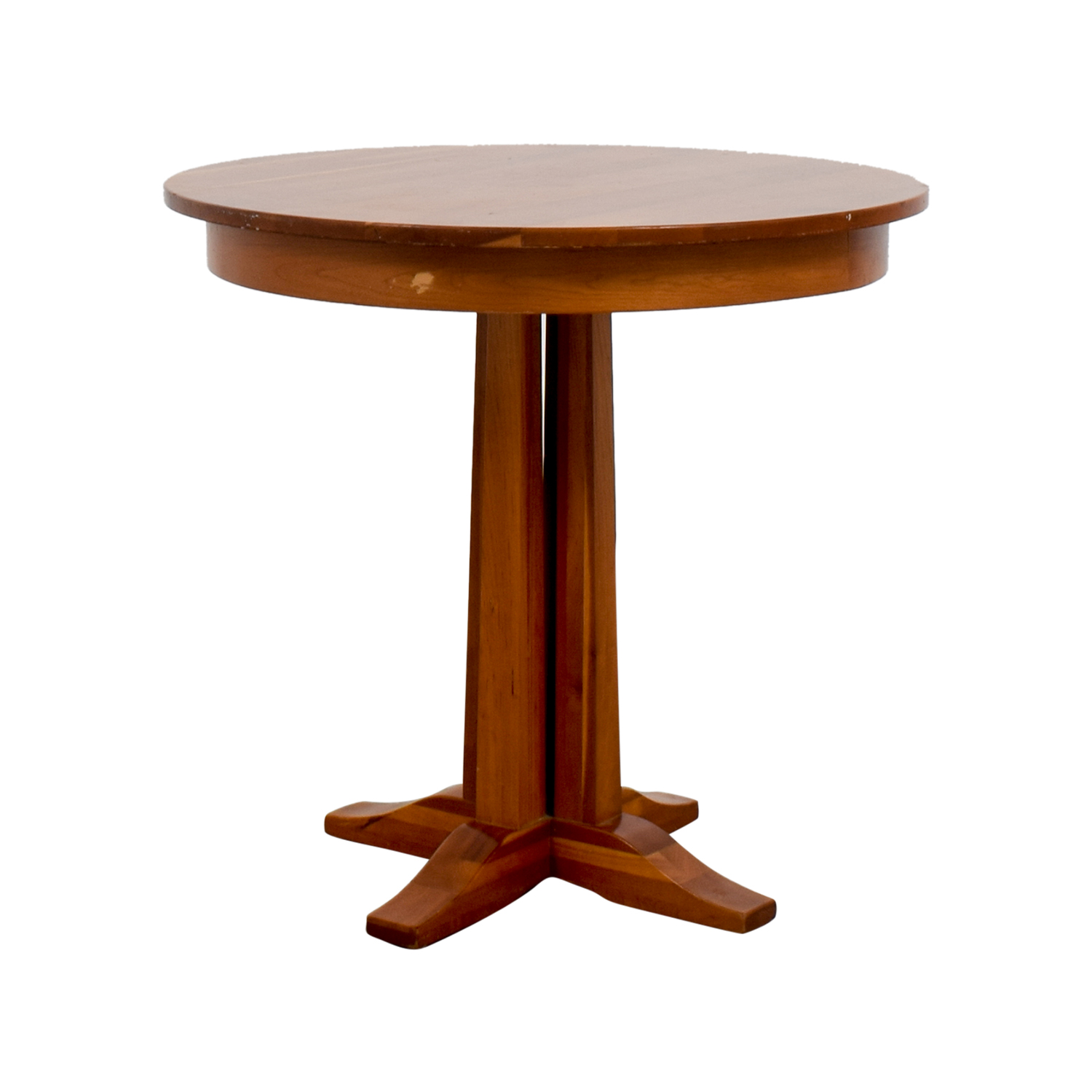 Round Wood Dining Table second hand