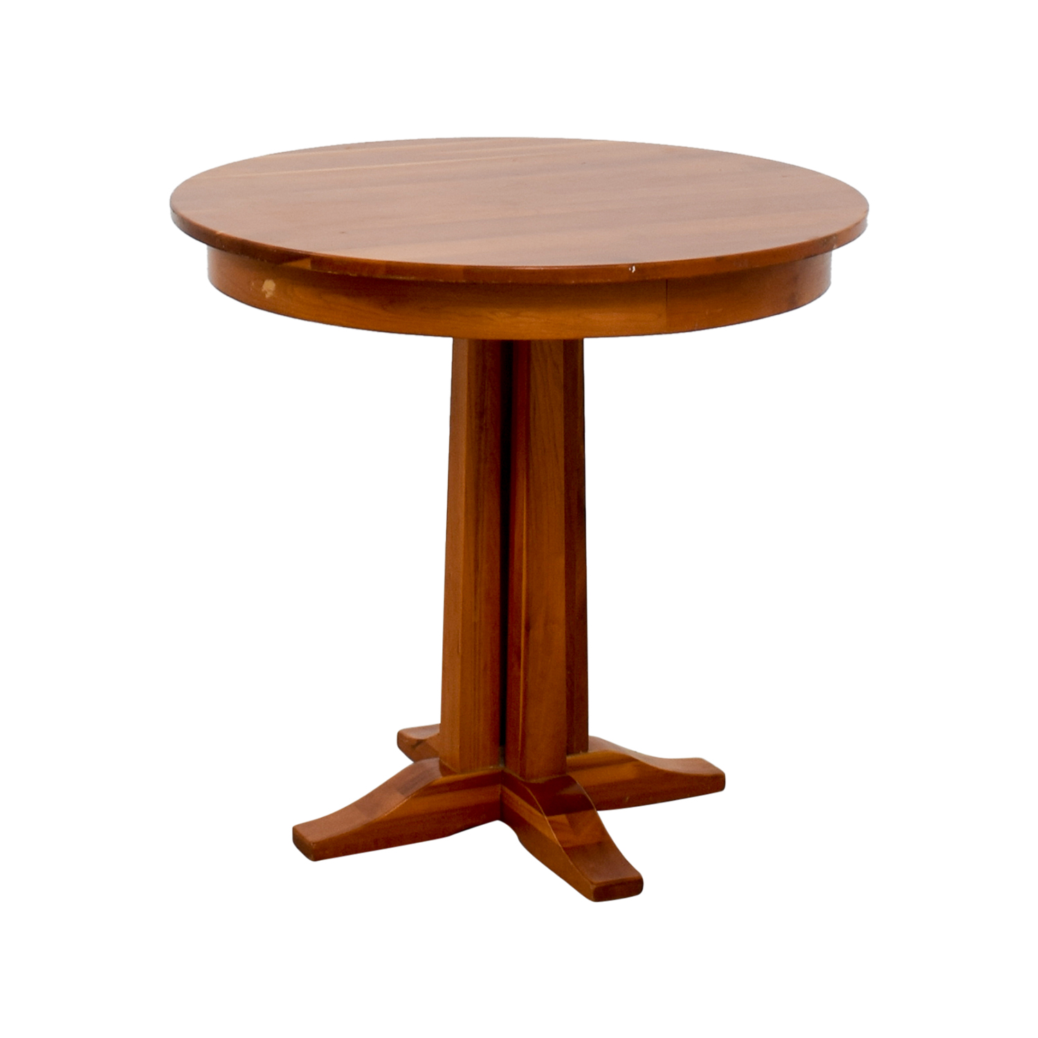 Round Wood Dining Table: Round Wood Dining Table / Tables