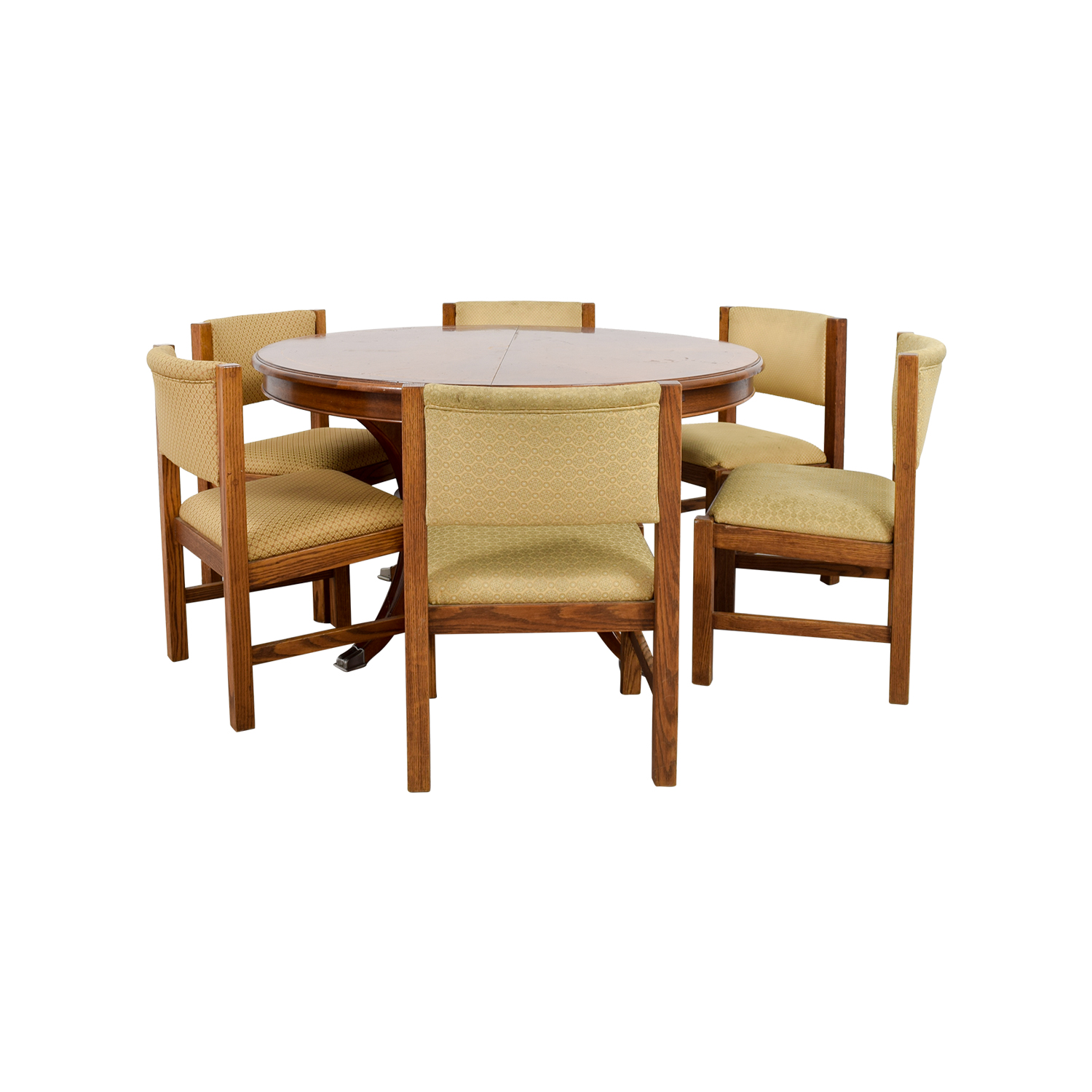 Pottery Barn Yellow Dining Set / Tables