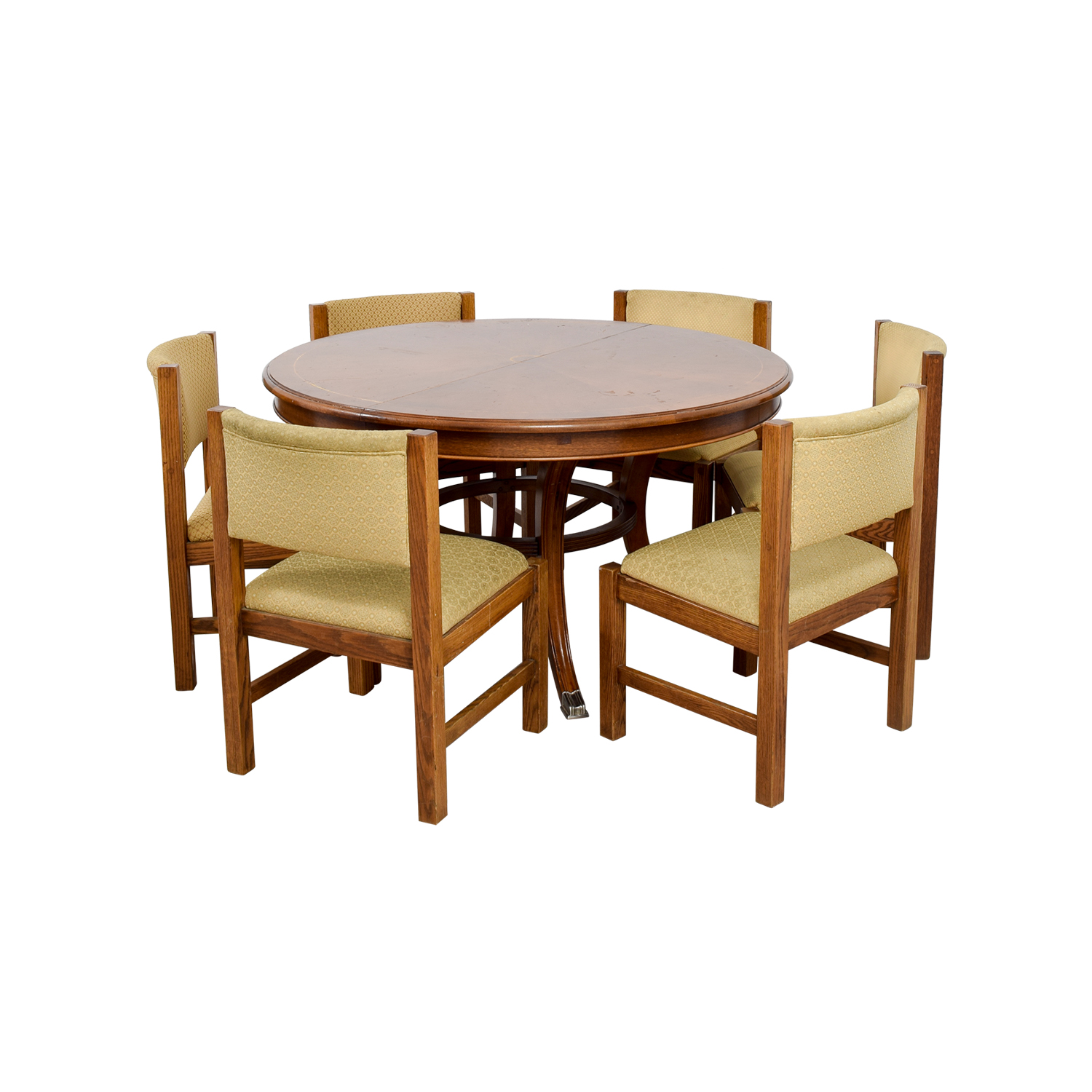 Pottery Barn Dining Sets: Pottery Barn Pottery Barn Yellow Dining Set / Tables