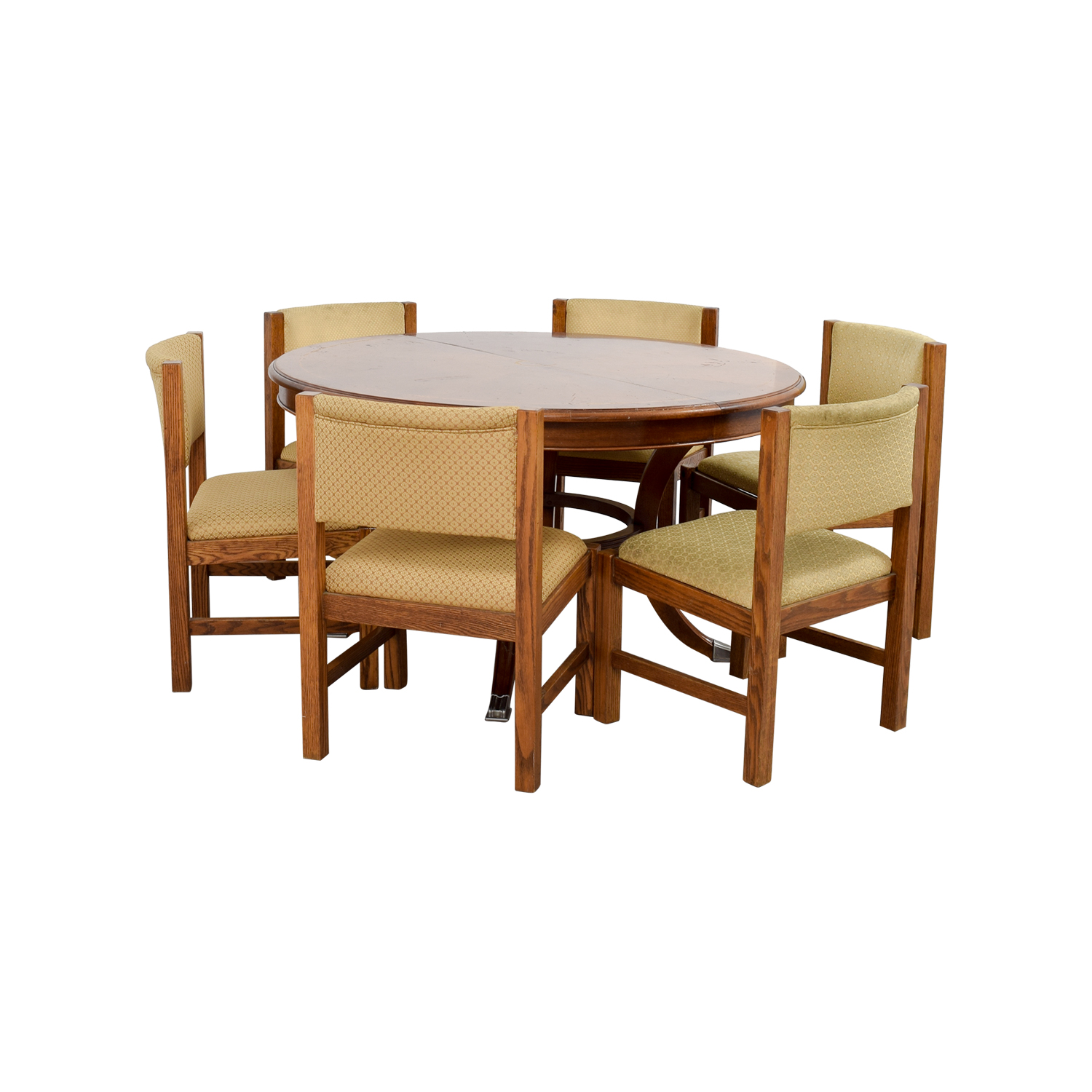 Pottery Barn Dining Room Set: Pottery Barn Pottery Barn Yellow Dining Set / Tables