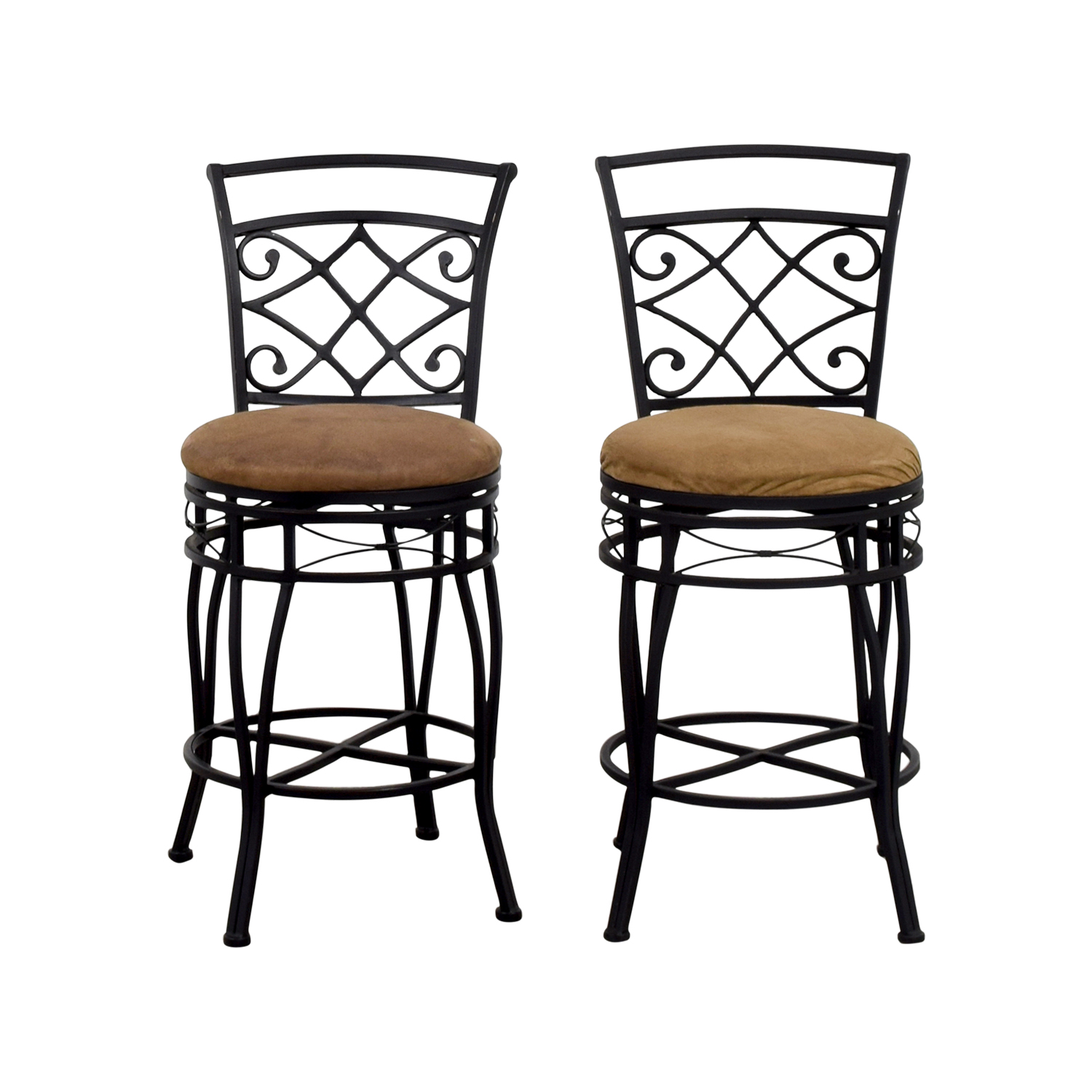 shop Brown Upholstered Bar Stools  Stools
