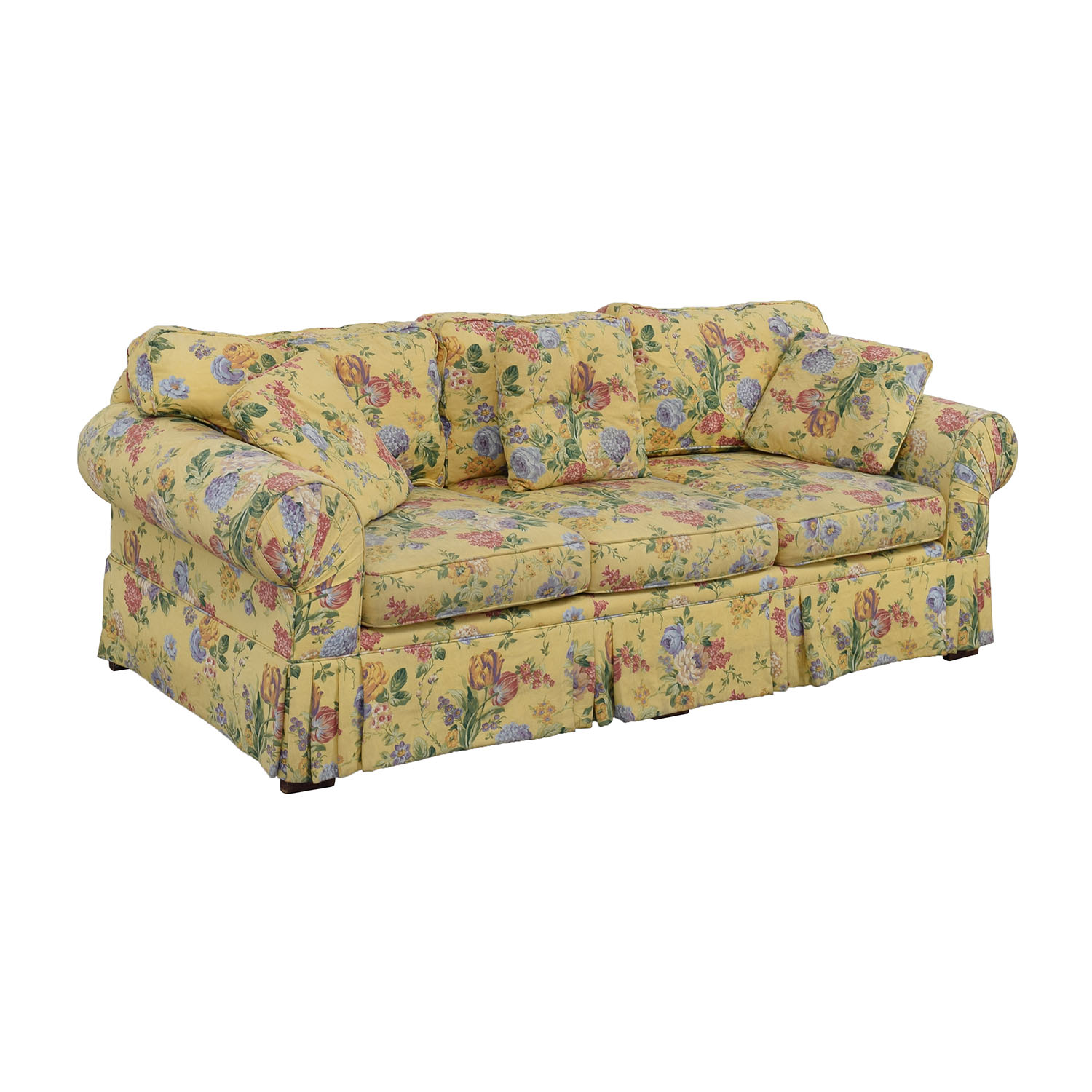 Etonnant ... Buy Alexvale Yellow Floral Two Cushion Couch Alexvale ...