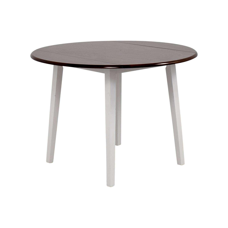63 off bob s furniture bob s furniture round folding leaf table