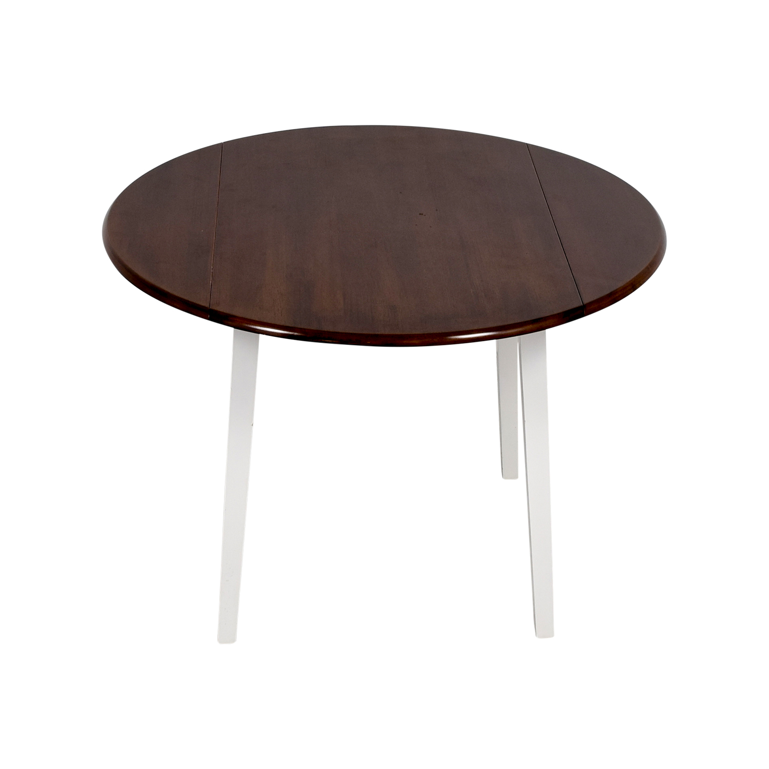 shop Bobs Furniture Round Folding Leaf Table Bobs Furniture Tables