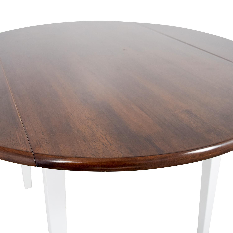 63% OFF Bob s Furniture Bob s Furniture Round Folding Leaf Table