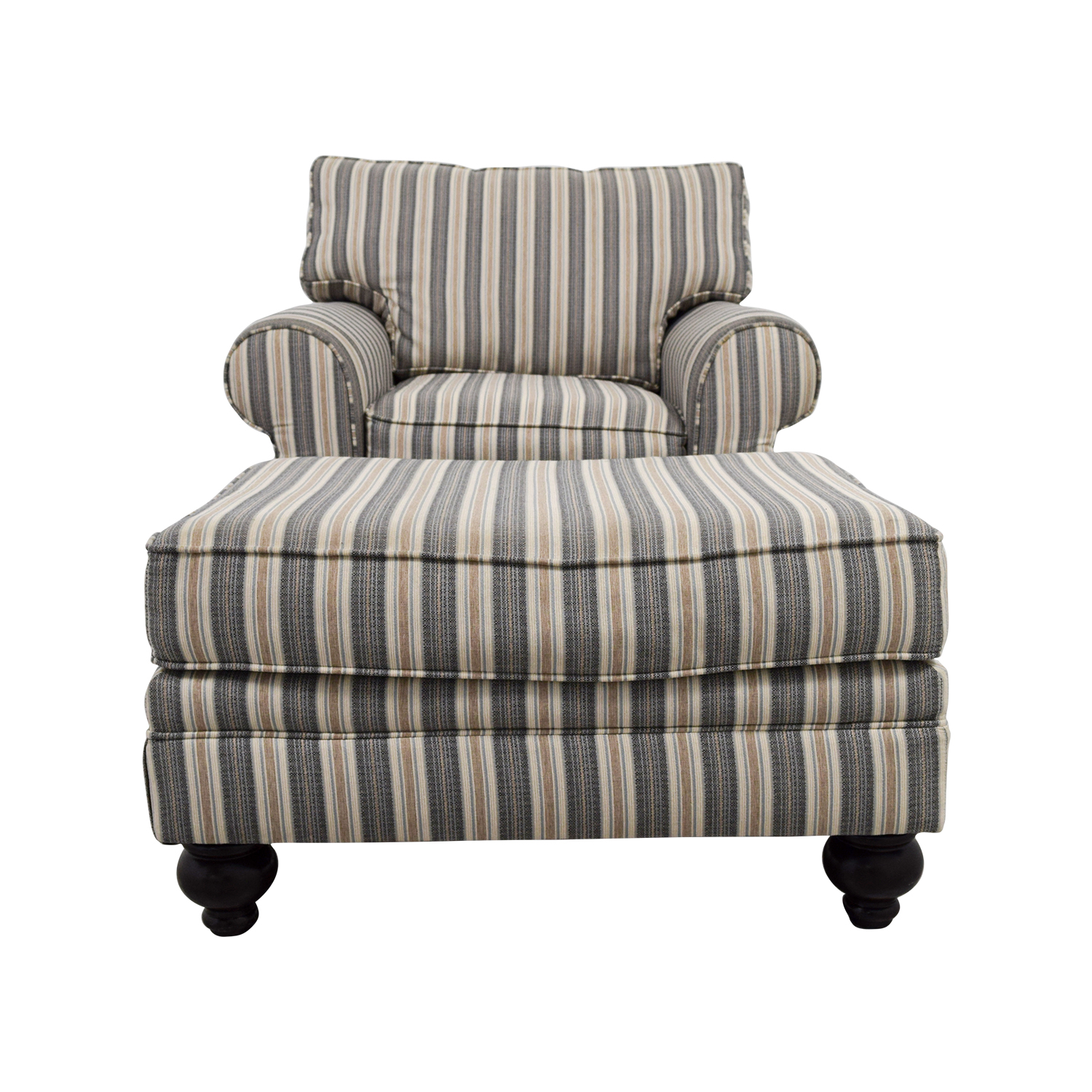 66% OFF Bob s Furniture Bob s Furniture Sofa Chair with Ottoman