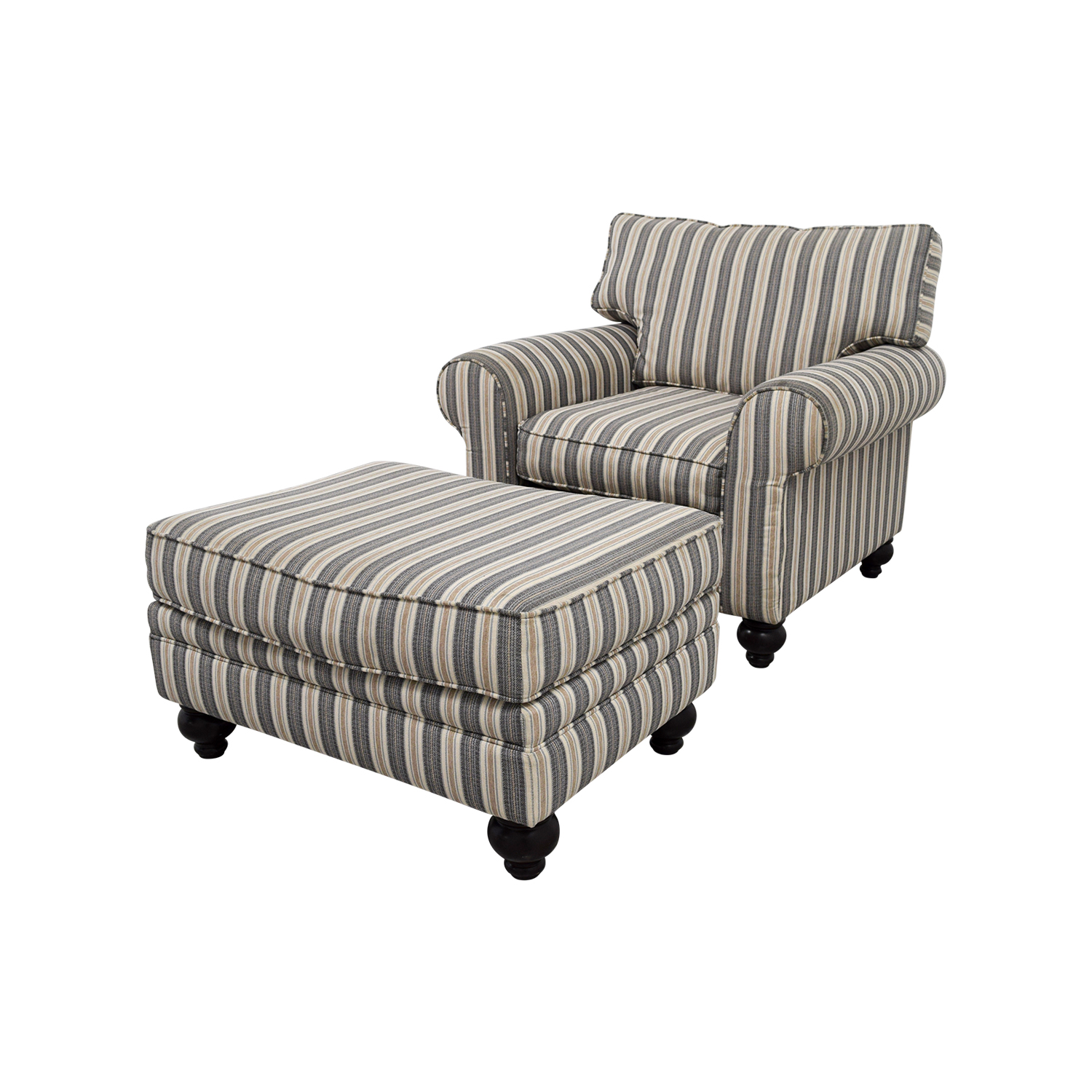 Bobs Furniture Sofa Chair With Ottoman Chairs
