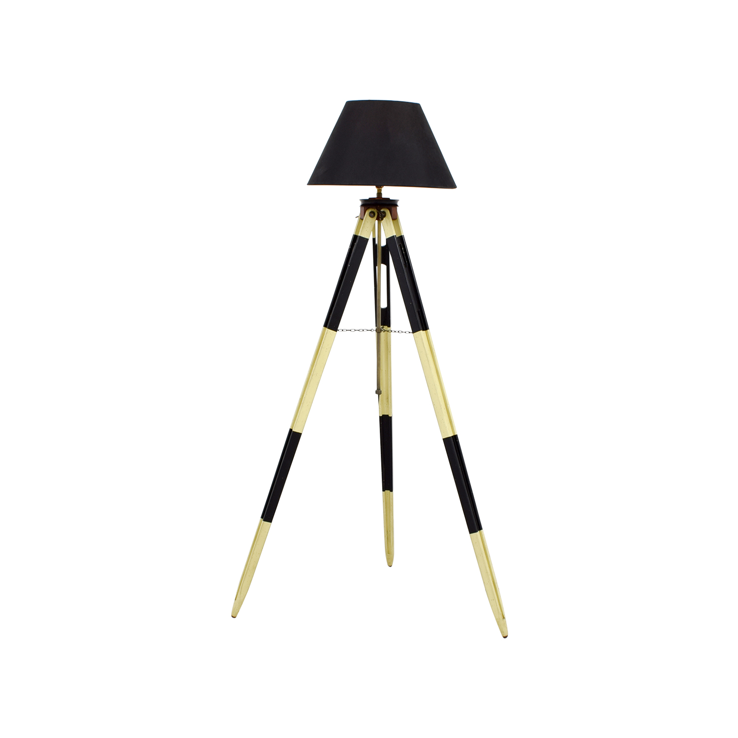Authentic Models Authentic Models Surveyors Black and White Tripod Lamp second hand