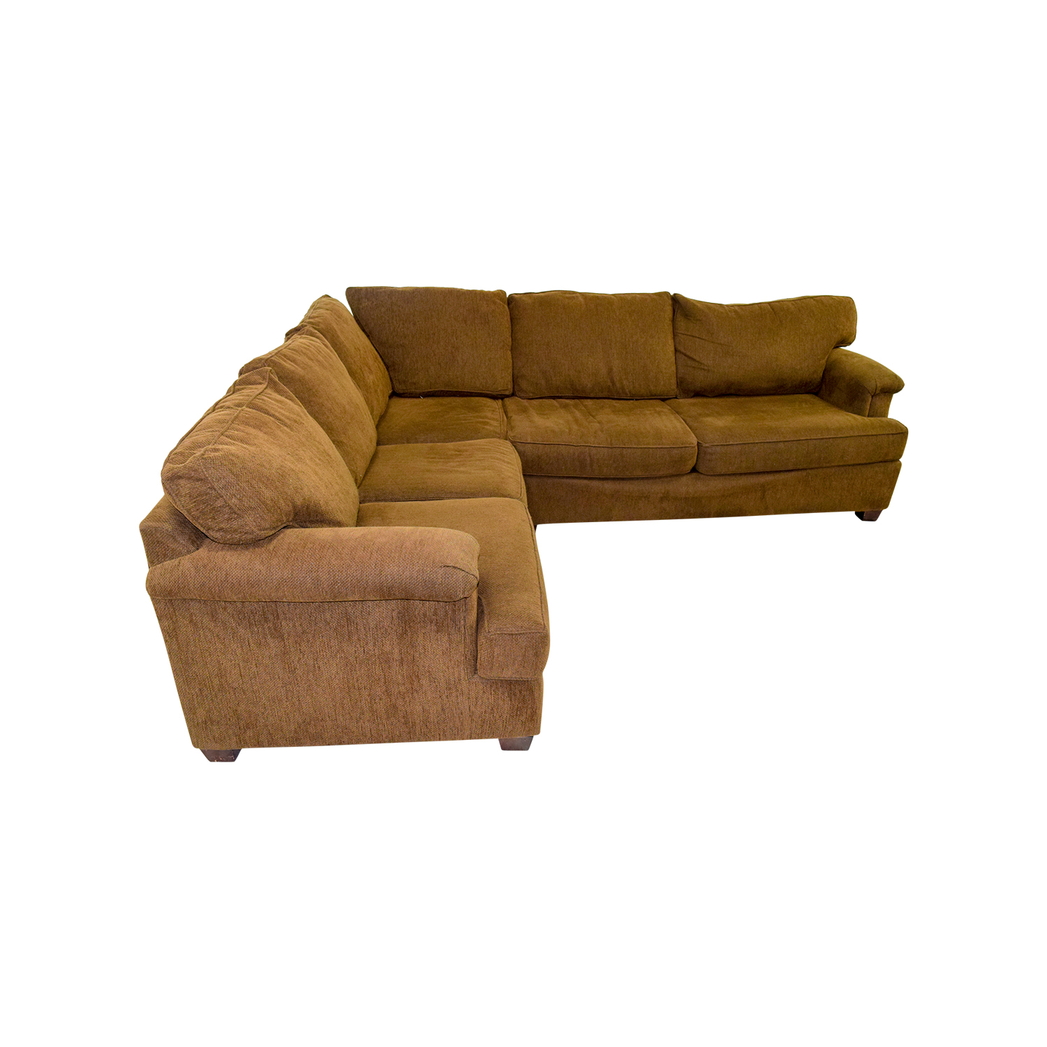 Bloomingdales Brown Corner Sectional Nj