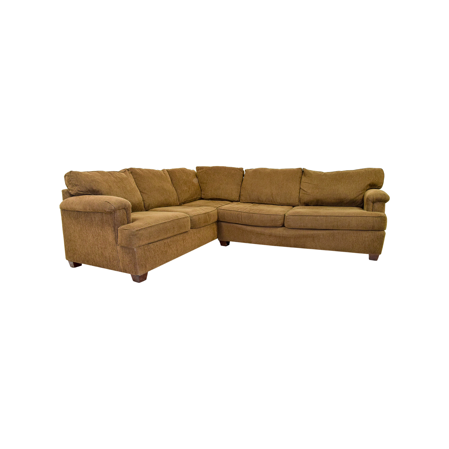 Bloomingdales Bloomingdales Brown Corner Sectional Brown