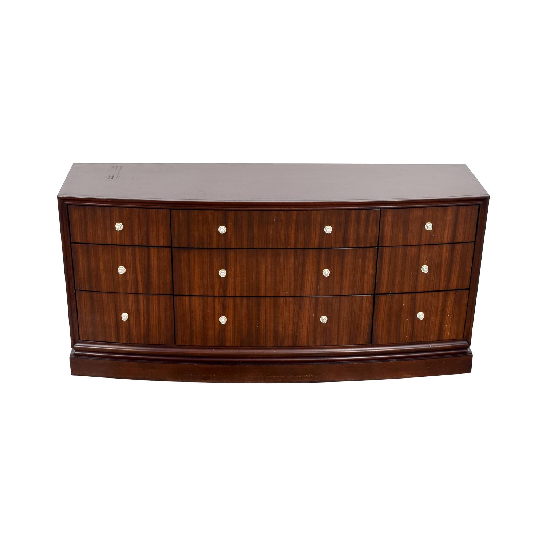 Ethan Allen Ethan Allen Lewis Triple Dresser Storage