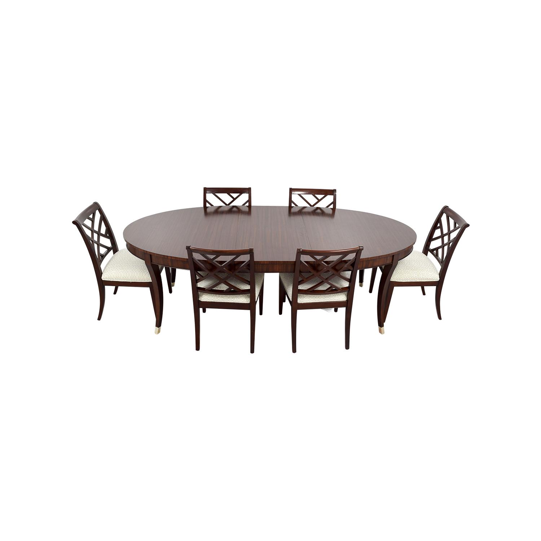 50 off ethan allen ethan allen hathaway dining set tables