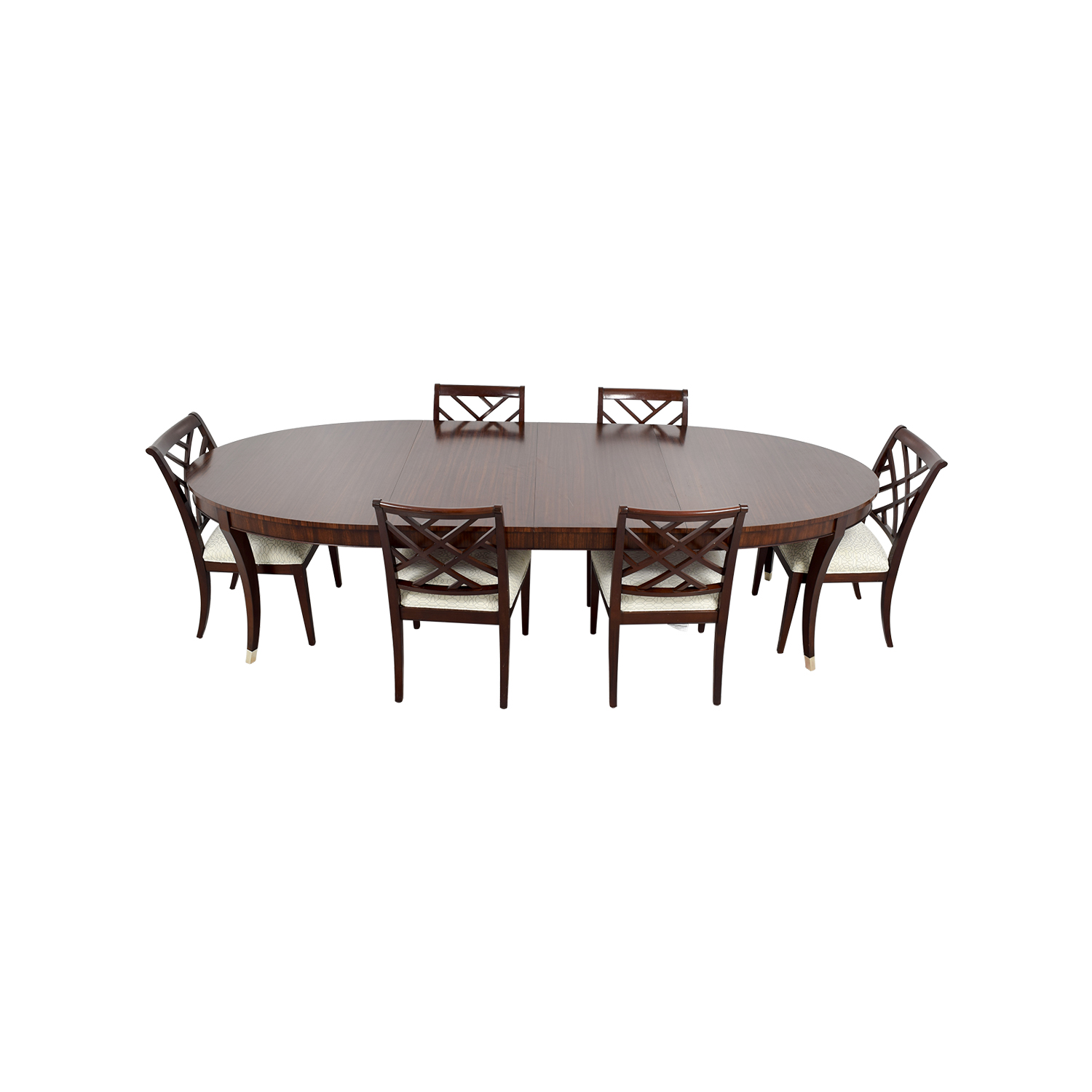 Used Ethan Allen Coffee Tables: Ethan Allen Ethan Allen Hathaway Dining Set / Tables