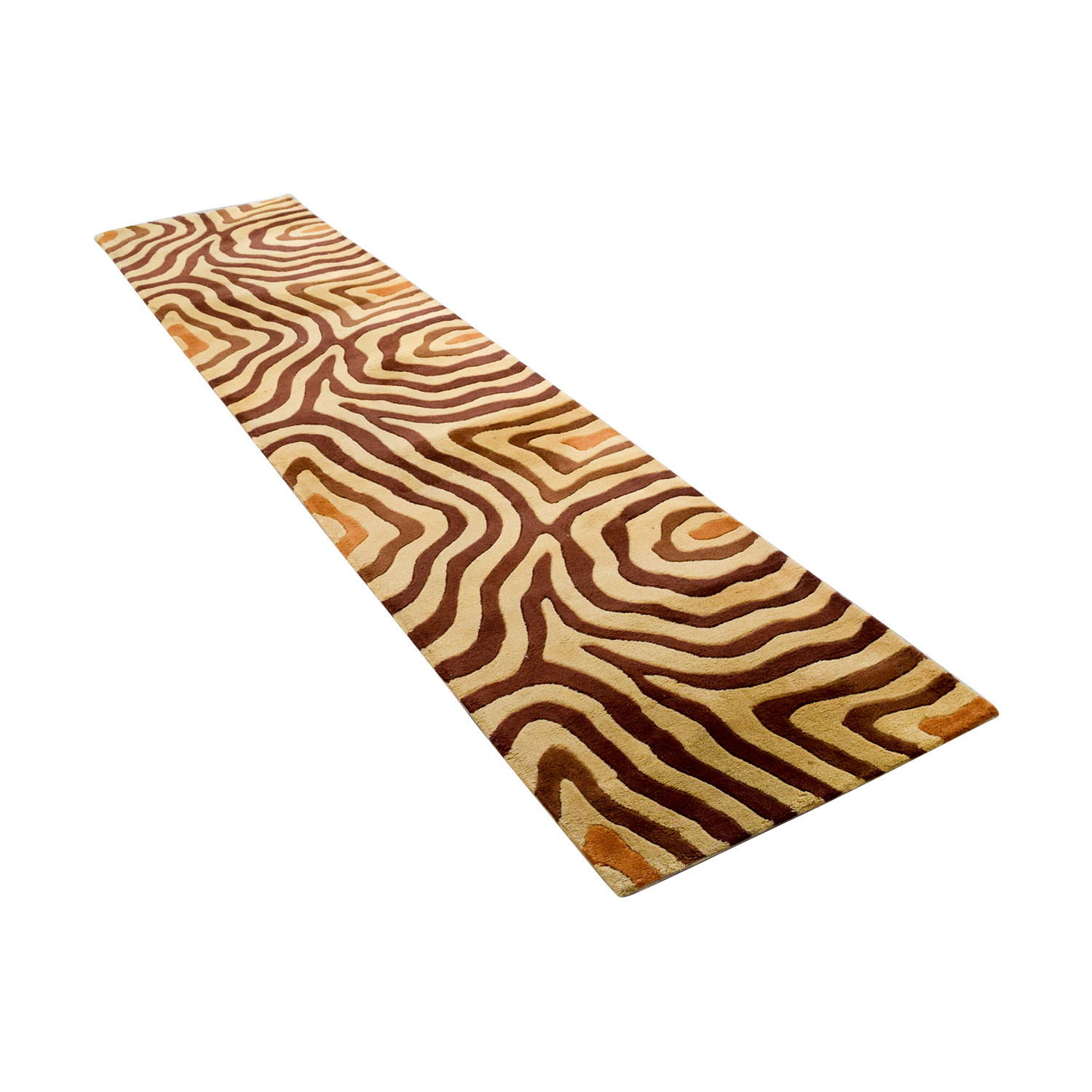 buy Momani Wool New Wave Runner Rug Momani Decor