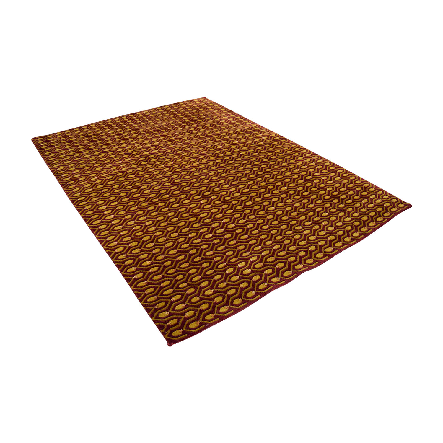 Red and Gold Rug discount