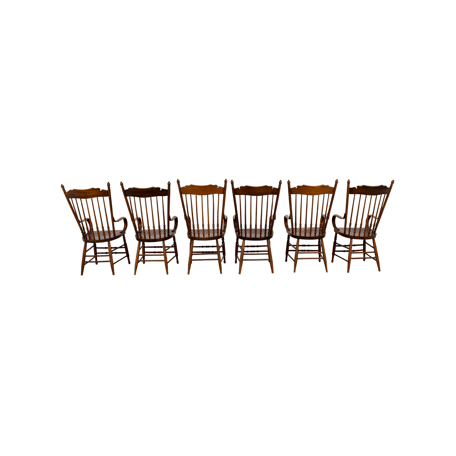 Antique Windsor Chairs with Arms used