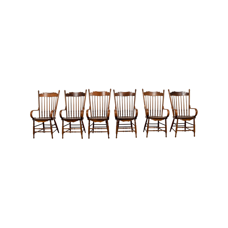 Antique Windsor Chairs with Arms coupon