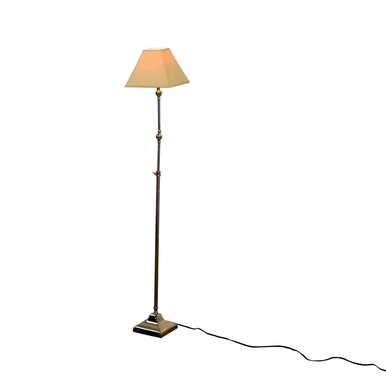 restoration hardware restoration hardware telescoping floor lamp