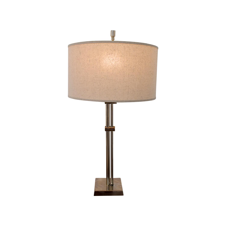 61 Off Restoration Hardware Parallel Table Lamp Decor