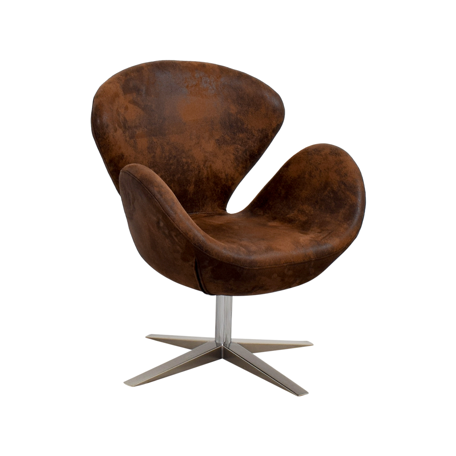 66 Off Target Target Modern Petal Chair Brown Chairs