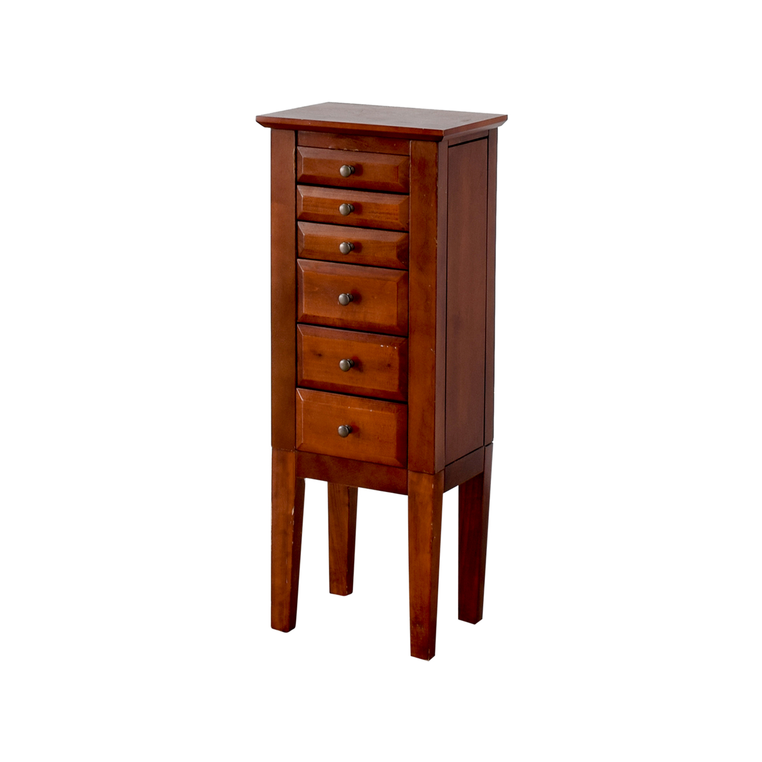 Powell Wood Jewelry Cabinet with Mirror sale