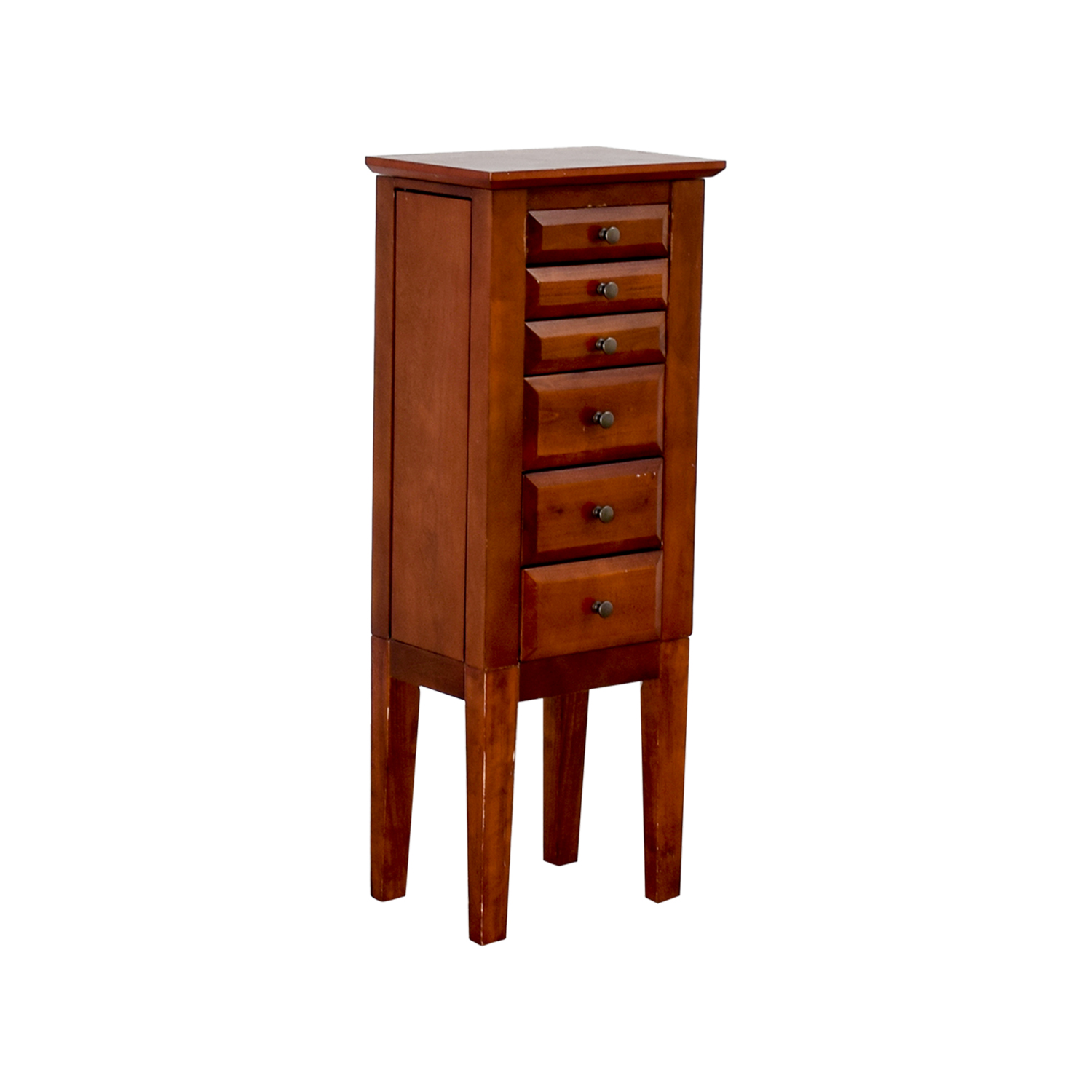 buy Powell Wood Jewelry Cabinet with Mirror Powell Storage