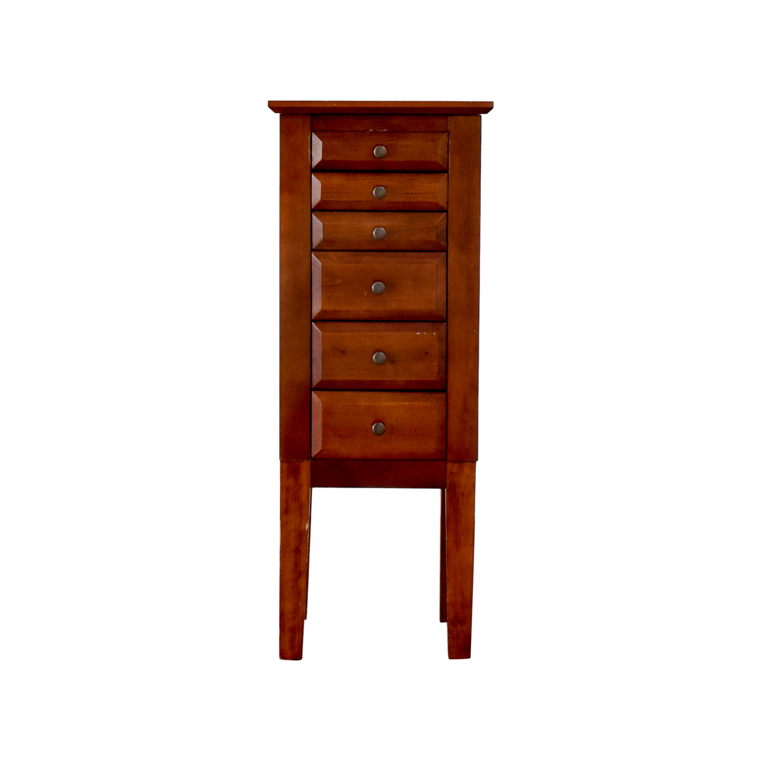 buy Powell Wood Jewelry Cabinet with Mirror Powell