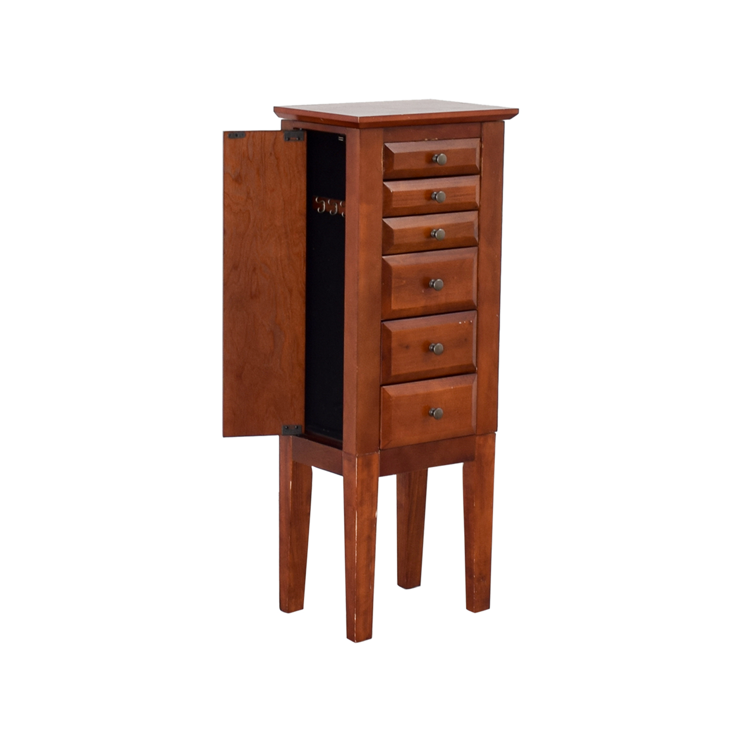 shop Powell Wood Jewelry Cabinet with Mirror Powell Cabinets & Sideboards